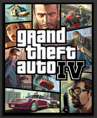 GTA IV - Cover