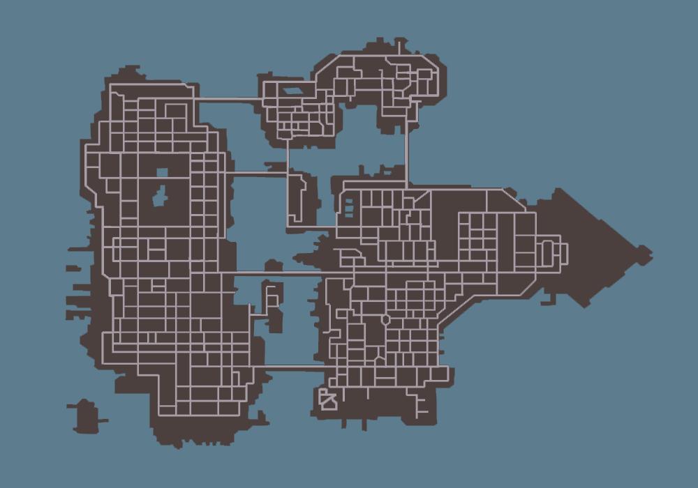 Map (GTA: Chinatown Wars) - GTAvision com - Grand Theft Auto News