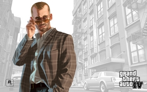 Grand Theft Auto IV Outdoor Series - Dmitri
