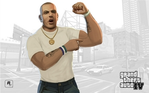 Grand Theft Auto IV Outdoor Series - Brucie