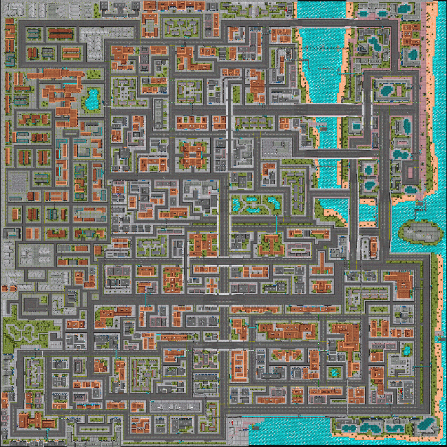 Map (Grand Theft Auto) - GTAvision.com - Grand Theft Auto News ...