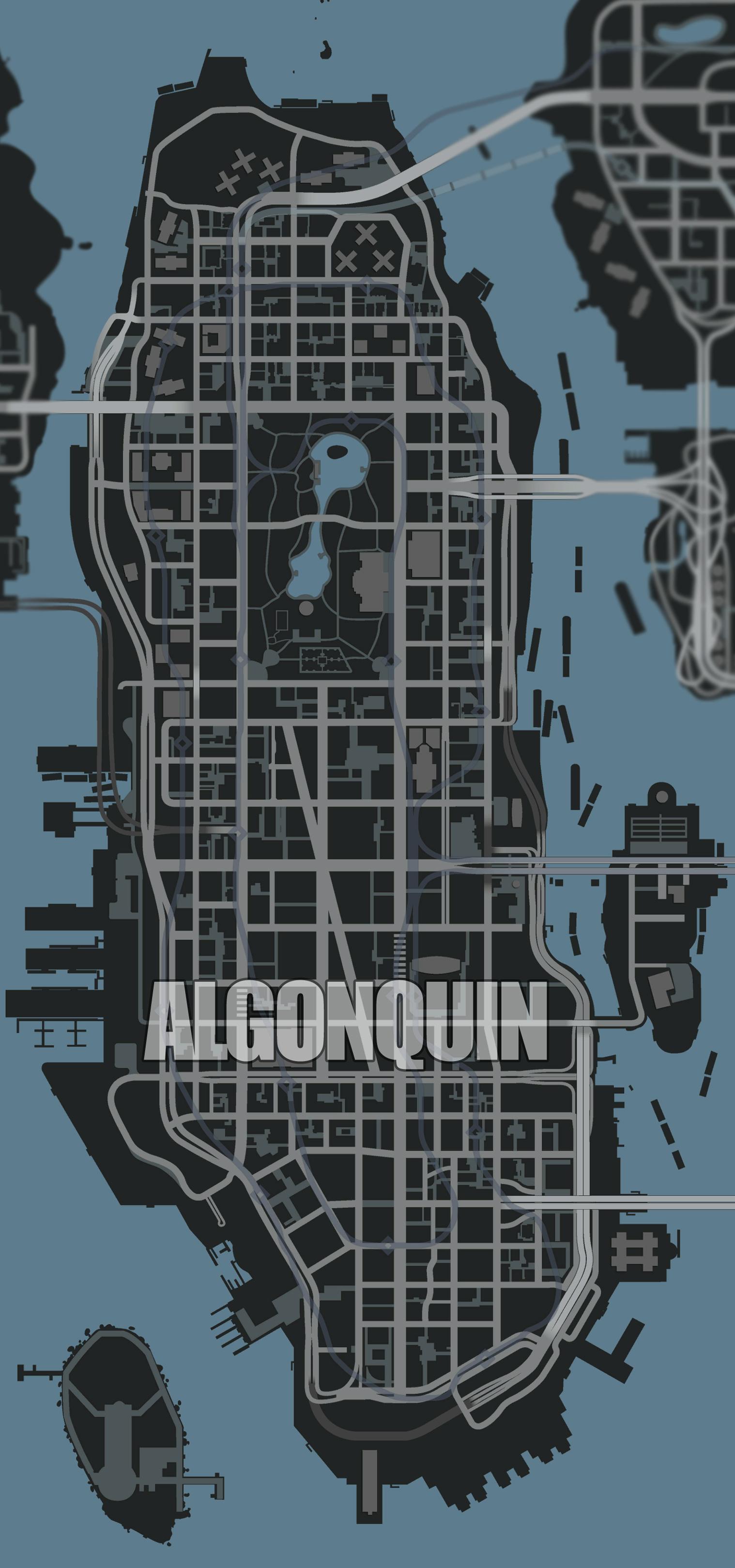 Map (GTA IV) - GTAvision com - Grand Theft Auto News