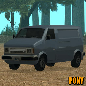 GTA: San Andreas - Pony