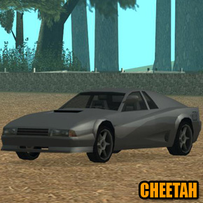 GTA: San Andreas - Cheetah