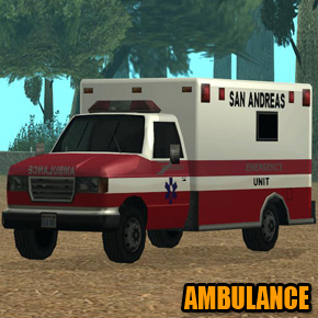 GTA: San Andreas - Ambulance