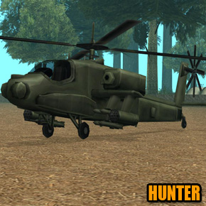 GTA: San Andreas - Hunter