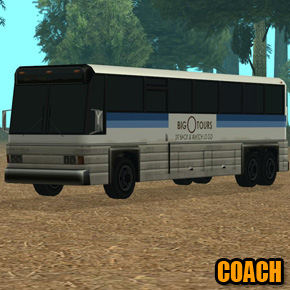 GTA: San Andreas - Coach
