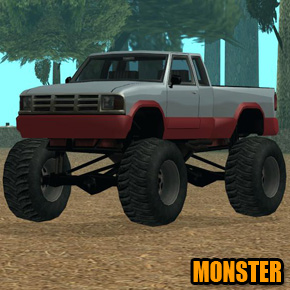 GTA: San Andreas - Monster