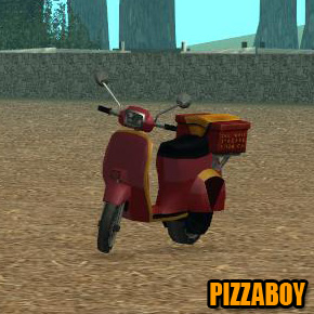 GTA: San Andreas - Pizzaboy