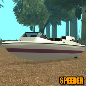 GTA: San Andreas - Speeder