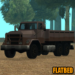 GTA: San Andreas - Flatbed