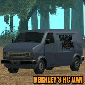 GTA: San Andreas - Berkley's RC Van