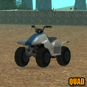 GTA: San Andreas - Quad