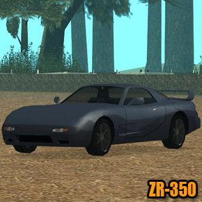GTA: San Andreas - ZR-350