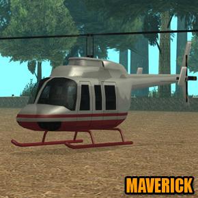 GTA: San Andreas - Maverick