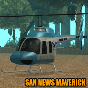 GTA: San Andreas - SAN News Maverick