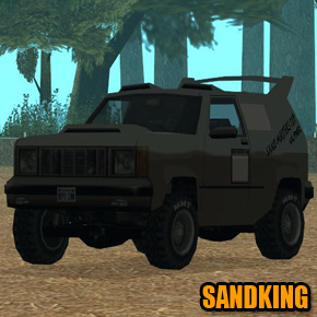 GTA: San Andreas - Sandking