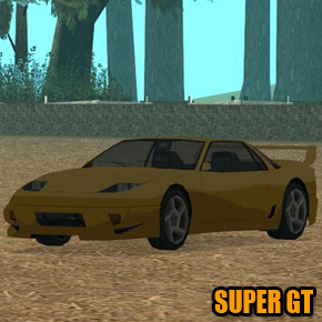 GTA: San Andreas - Super GT