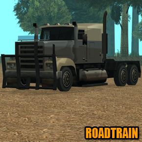 GTA: San Andreas - Roadtrain