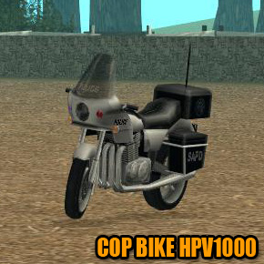 GTA: San Andreas - Cop Bike HPV1000