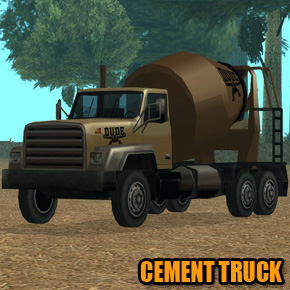GTA: San Andreas - Cement Truck