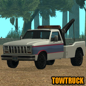 GTA: San Andreas - Towtruck
