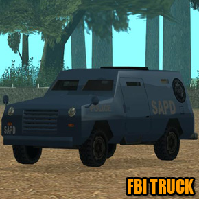 GTA: San Andreas - FBI Truck