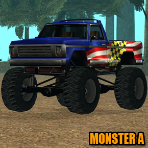 GTA: San Andreas - Monster A