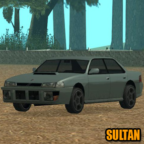 GTA: San Andreas - Sultan