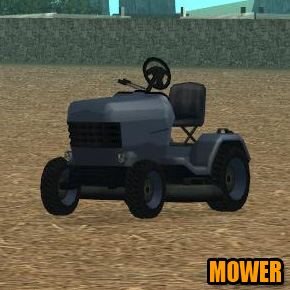 GTA: San Andreas - Mower