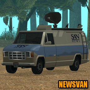 GTA: San Andreas - Newsvan