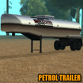 GTA: San Andreas - Petrol Trailer