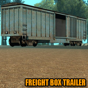 GTA: San Andreas - Freight Box Trailer
