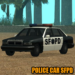 GTA: San Andreas - Police Car SFPD