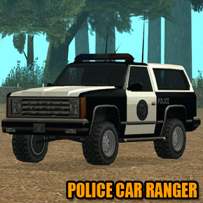 GTA: San Andreas - Police Car Ranger