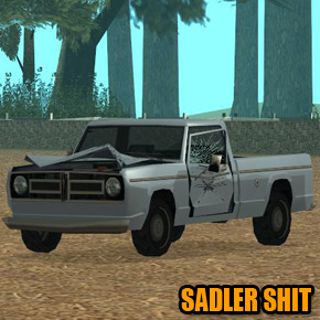GTA: San Andreas - Sadler Shit