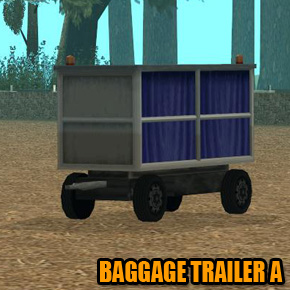 GTA: San Andreas - Baggage Trailer A
