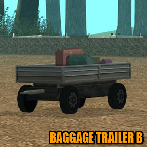 GTA: San Andreas - Baggage Trailer B
