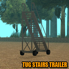 GTA: San Andreas - Tug Stairs Trailer