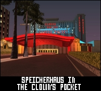 The Clown's Pocket Speicherhaus