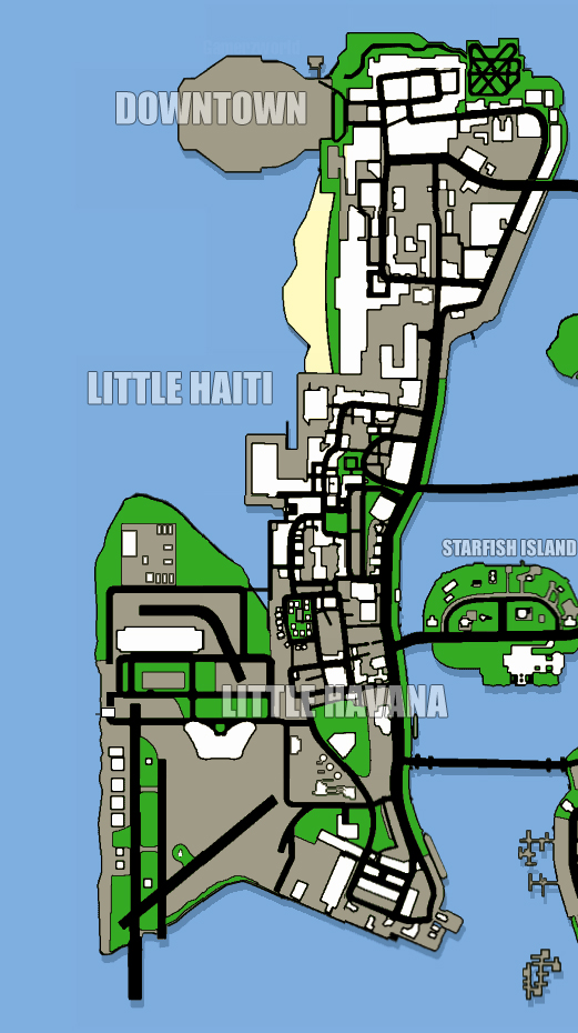 Map (GTA: Vice City Stories) - GTAvision.com - Grand Theft Auto News,  Downloads, Community and more...