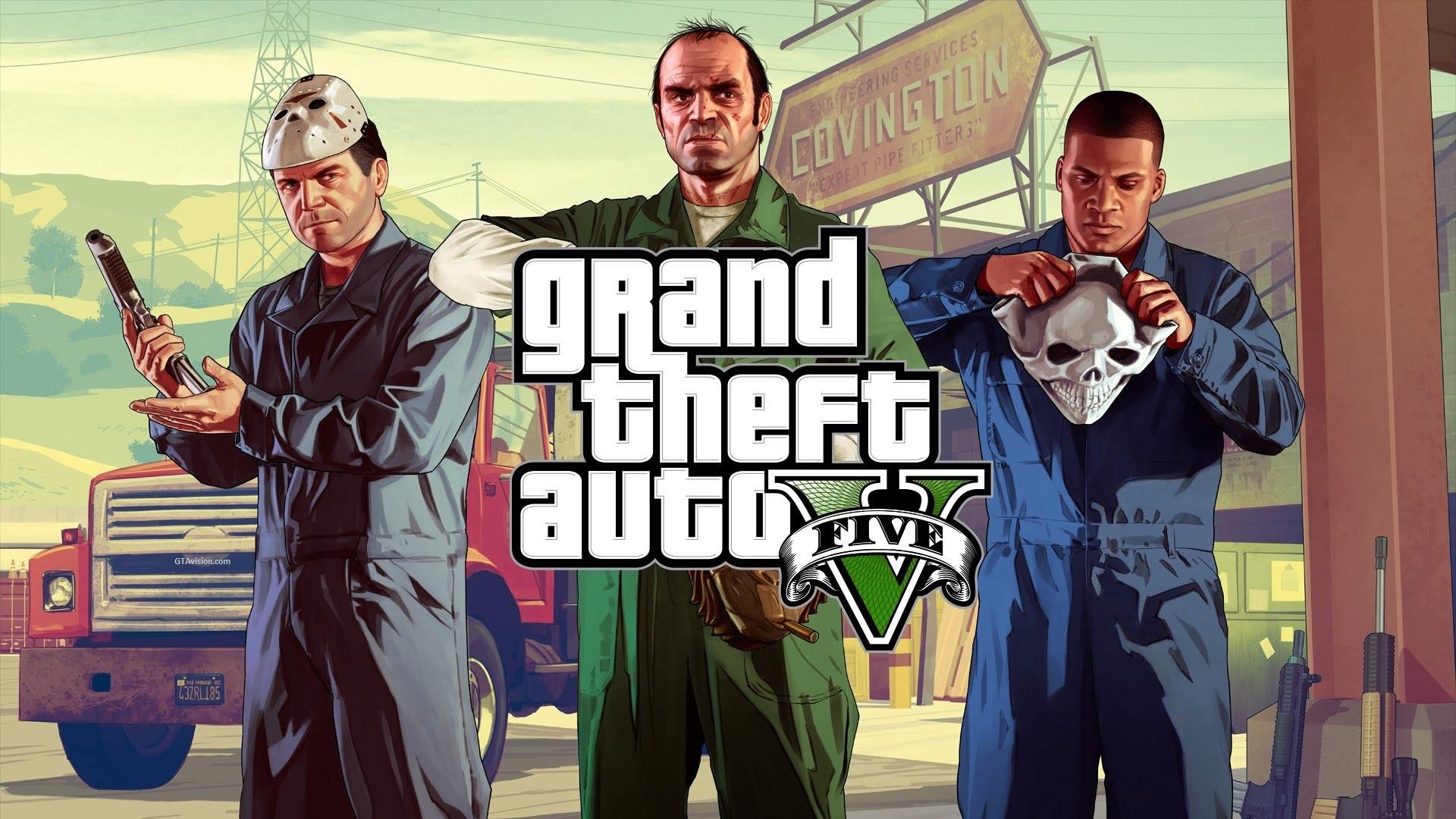 Neues Artwork der drei GTA V Charaktere in HQ - GTAvision