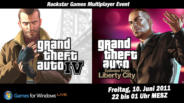 GTA IV & Episodes from Liberty City Multiplayer Event für PC