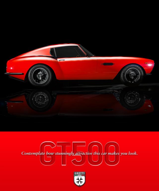 neues auto grotti gt500 neuer modus air quota und. Black Bedroom Furniture Sets. Home Design Ideas