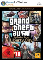 Europa & Australien Grand Theft Auto: Episodes From Liberty City Release
