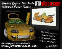Toyota Supra TwinTurbo - Inspired racer TUNING