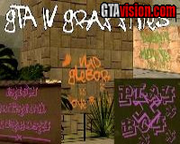 GTA IV Gang-Grafitties