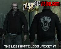 The Lost Jacket (White Logo)