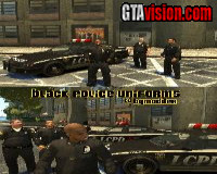 Black Police Uniforms