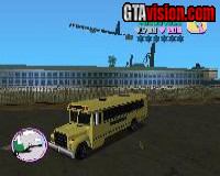 GTA III Beta School Bus